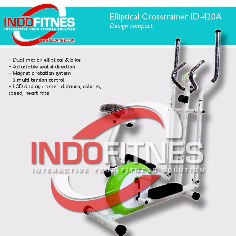 Elliptical Magnetic Bike 2 in 1 ID-420A