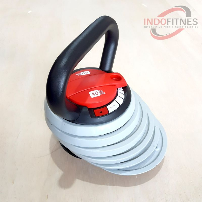 Adjustable Kettlebell 40 Lbs (18kg)