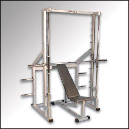 smith machine bar