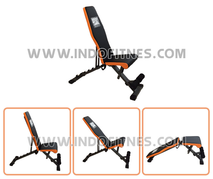 Adjustable bench 7in1 + Sit up bench