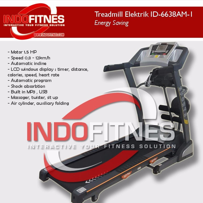 Treadmill Elektrik ID-6638AM-1